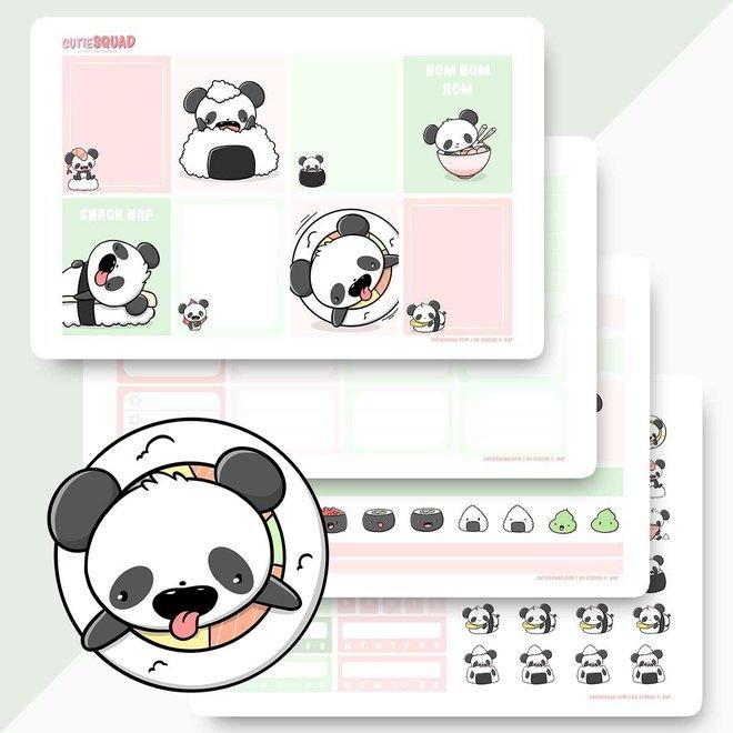 Planner Kit - Sushi Pandas