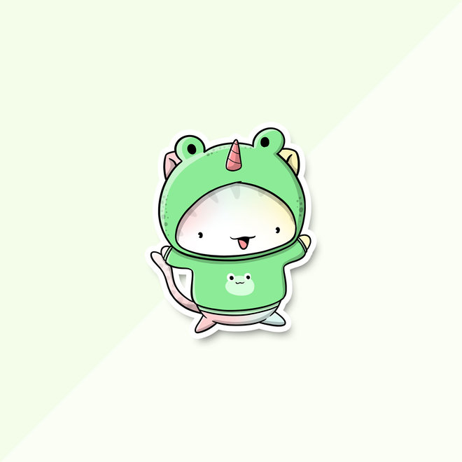 Stickerset - Frogs (LIMITED!)