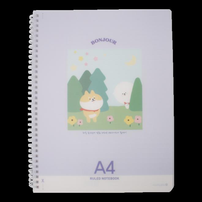 Bonjour Bichon notebook (diverse)