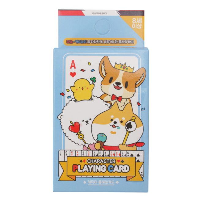 Moongs Friends playing cards