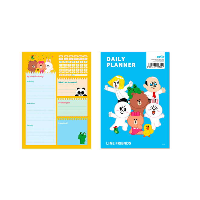 Line Friends To-do Notepad