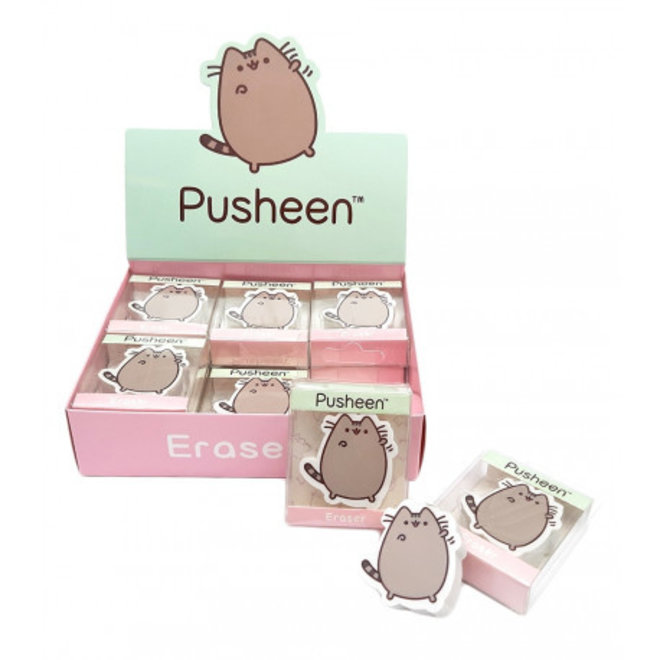Pusheen eraser - Hello