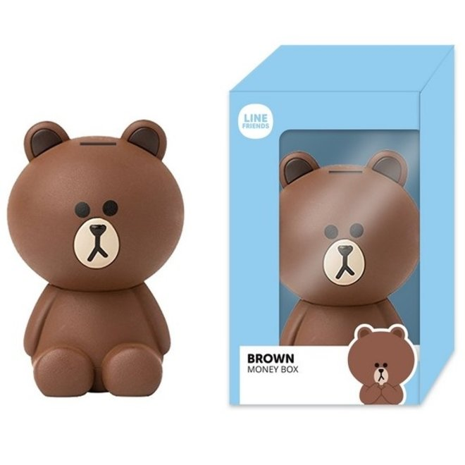 Line Friends money box - Brown
