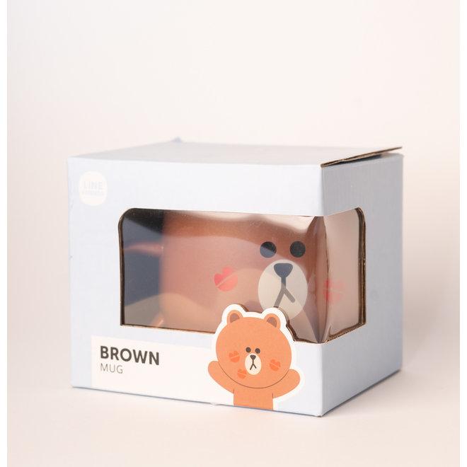 Line Friends mok - Brown