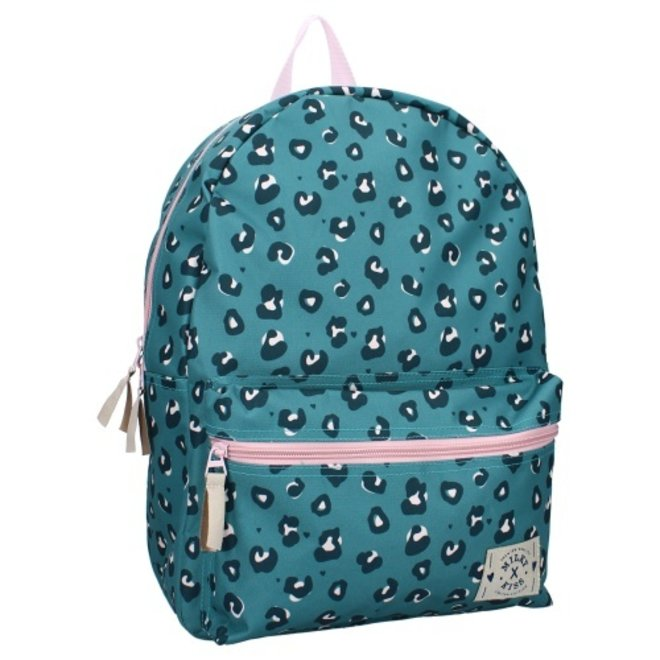 Milky Kiss backpack Young, Wild & Free - Panter