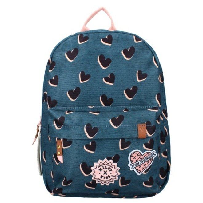 Milky Kiss backpack Love Land - Blue
