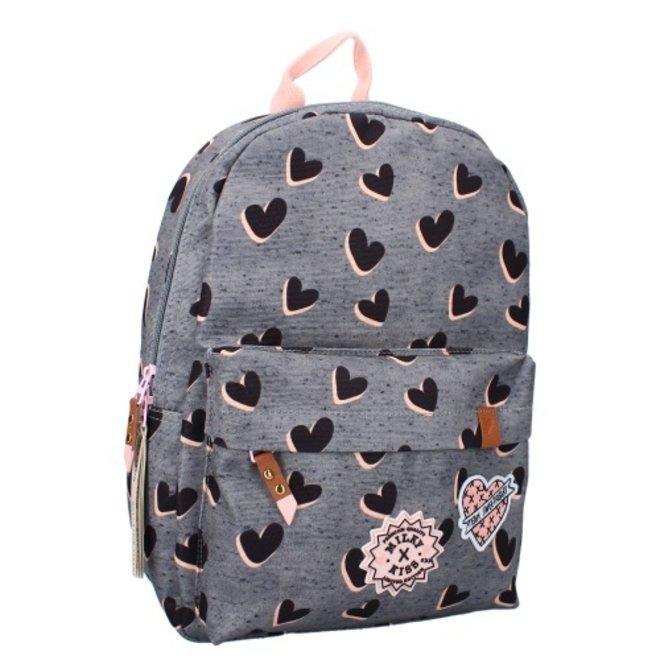 Milky Kiss backpack Love Land - Grey
