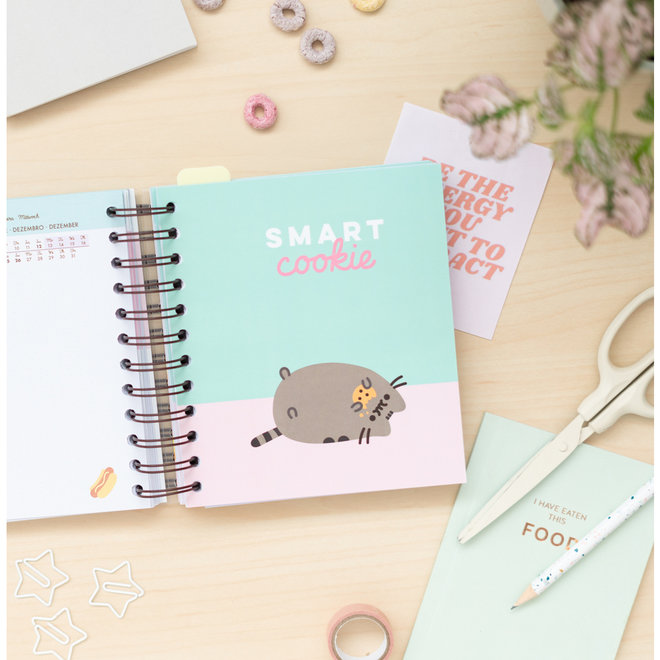 Pusheen Academic Diary 2021-2022 - Foodie Collection