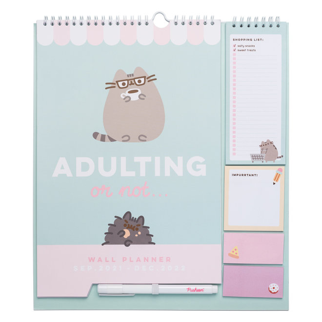 Pusheen wall planner 2021-2022 - Foodie Collection