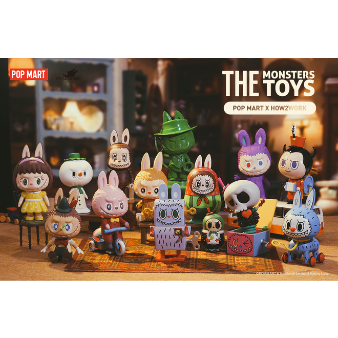 POP MART Labubu The Monsters Toys