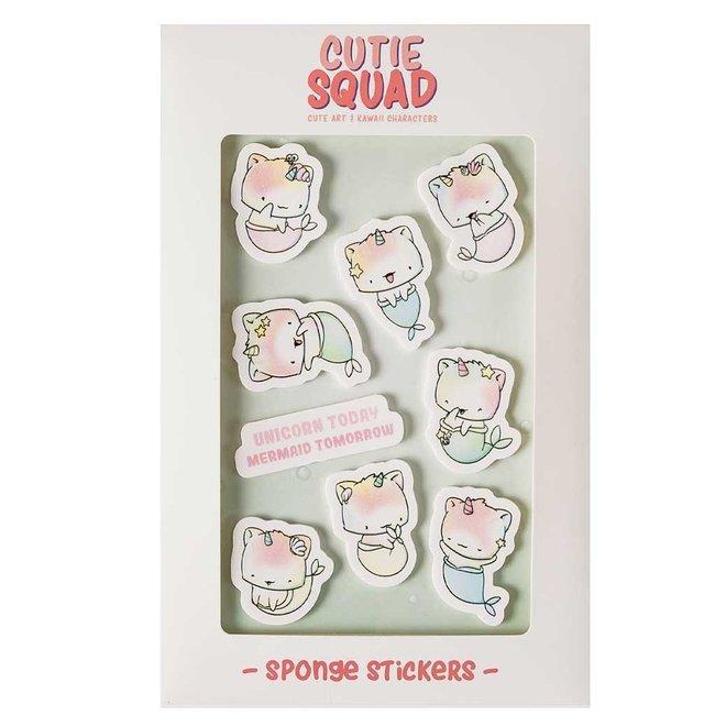 Big foam stickers - Merkitties