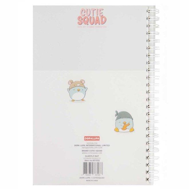 A5 Bullet Journal - Summer Penguins