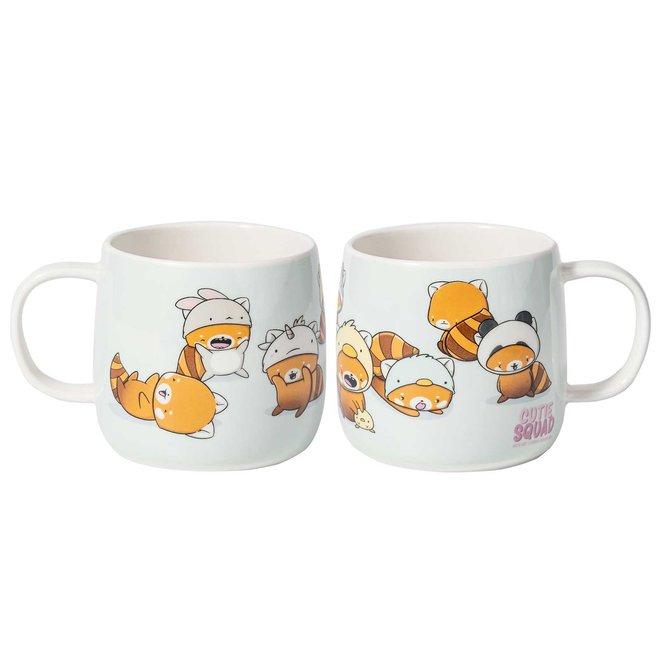 Mug - Red Pandas with hats
