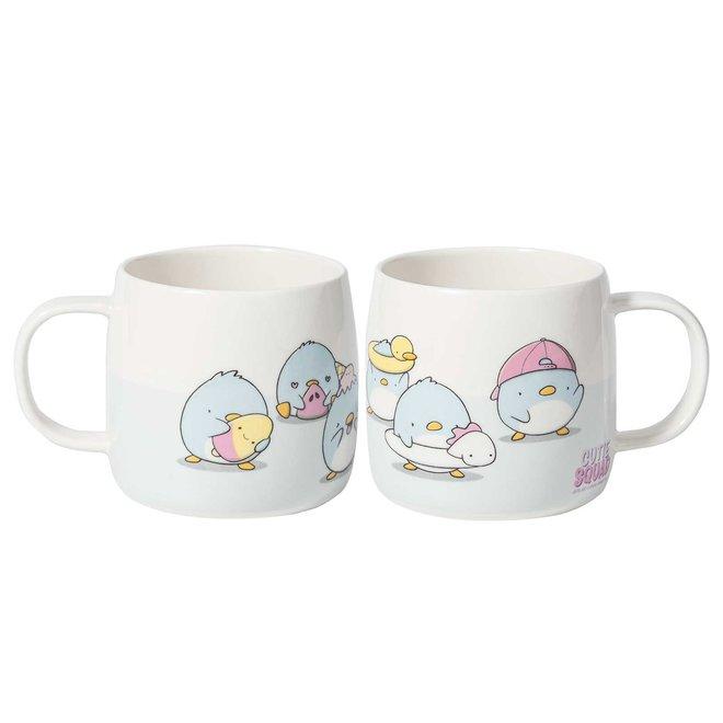 Mug - Summer Penguins