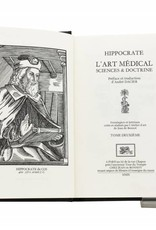 Hippocrate de Cos  Hippocrate de Cos  - L'Art Médical, Sciences et Doctrine - Tome 2