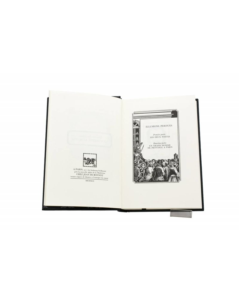 Balzac (Honoré de) Balzac (Honoré de) - Illusions perdues (1ère et 2ème parties) - Tome 12
