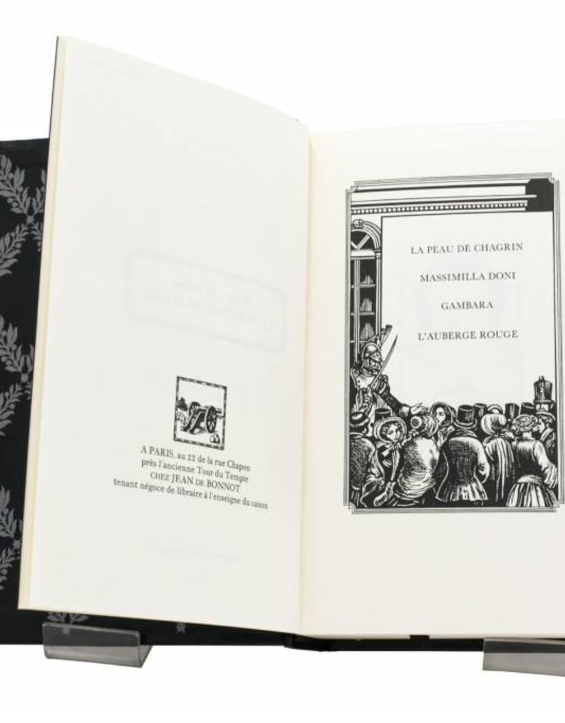 Balzac (Honoré de) Balzac (Honoré de) - La Peau de chagrin - Tome 24