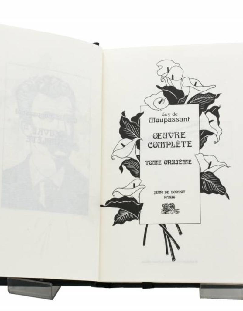 Maupassant (Guy de) Maupassant (Guy de) - Œuvres Complètes - Tome 11