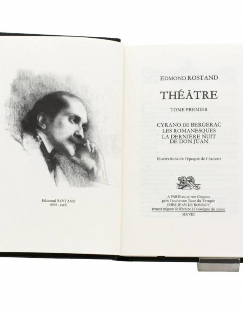 Rostand (Edmond) Rostand (Edmond) - Théatre - Cyrano de Bergerac - Tome 1