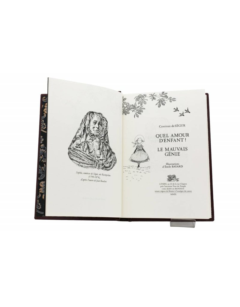 Ségur (Comtesse de) Ségur (Comtesse de) - Quel Amour d'Enfant - Le Mauvais Génie - Tome 9
