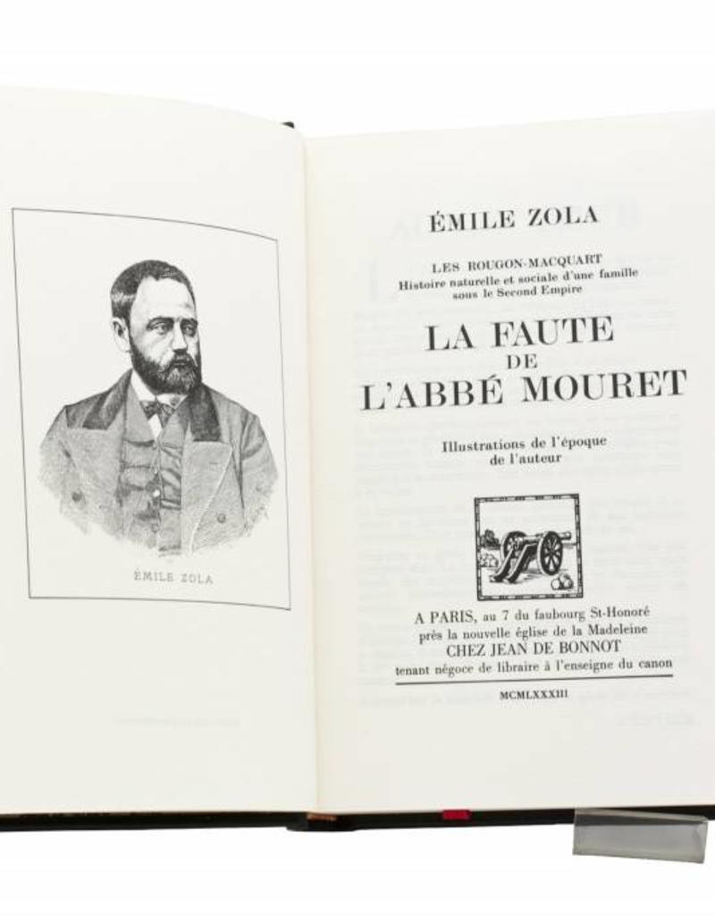 Zola (Emile) Zola (Emile) - La Faute de l'Abbé Mouret - Tome 8