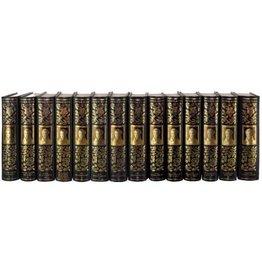 Collection Victor Hugo  en 14 volumes, l'Œuvre Romanesque - Hugo (Victor)