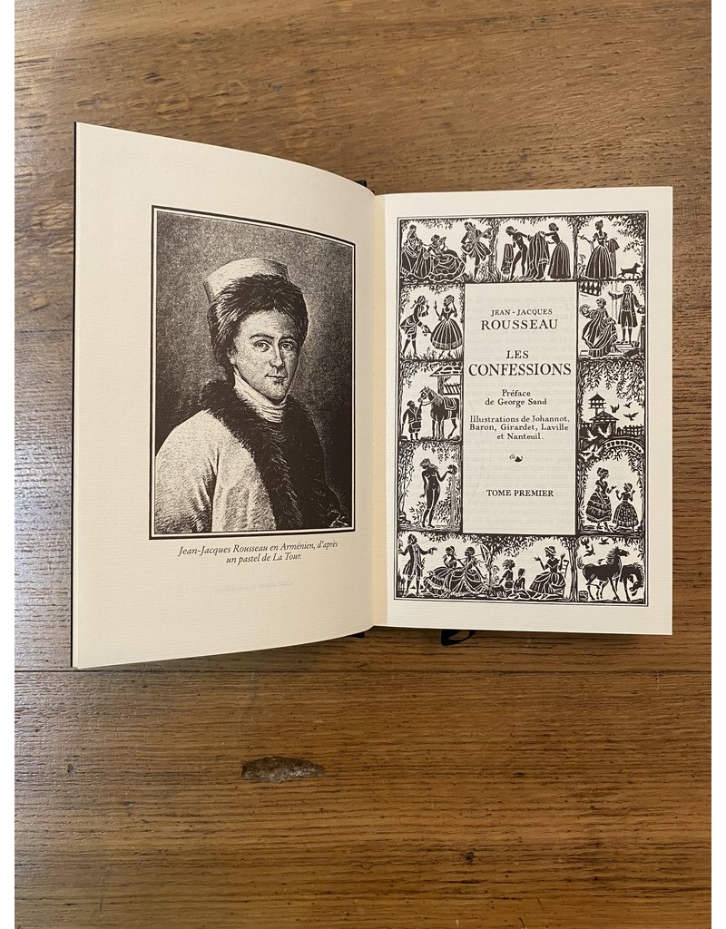 Jean-jacques Rousseau - Les confessions - Collection en 2 volumes