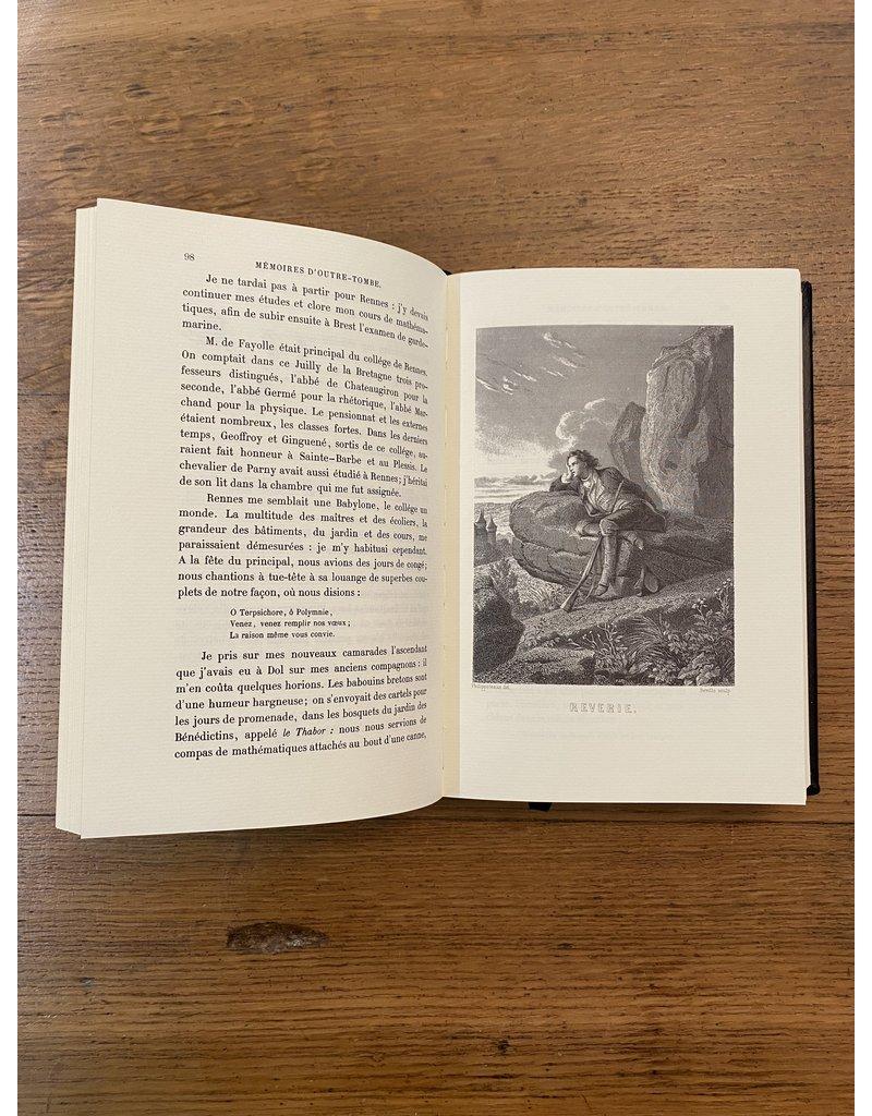 Chateaubriand - Les mémoires d'Outre-Tombe - Collection en 6 volumes