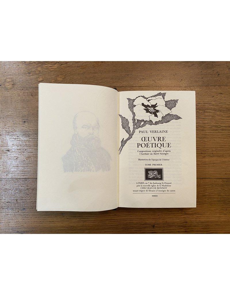 Verlaine (Paul)  - Poésies - Collection en 7 volumes