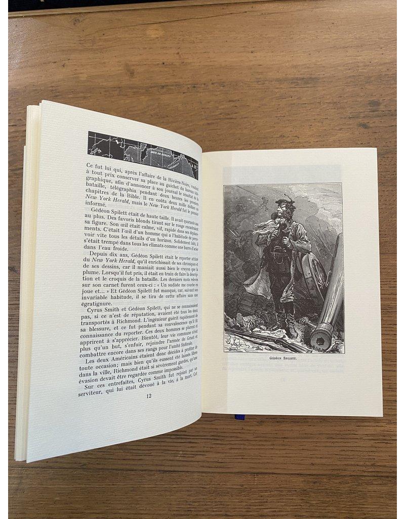 Verne (Jules) Verne (Jules) - L'Ile Mystérieuse, première  et deuxième partie