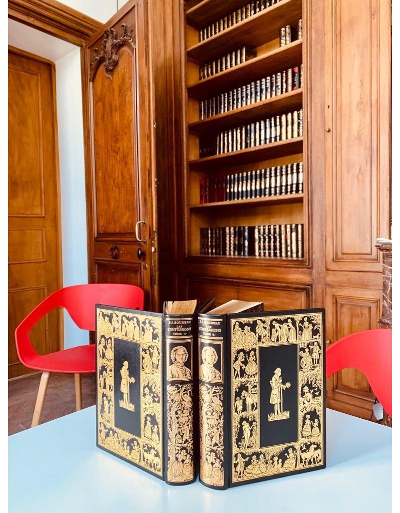 Jean-jacques Rousseau - Les confessions - Collection en 2 volumes