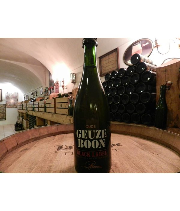 Geuze Boon Oude Geuze black label 2nd edition