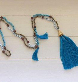 561c6e5605c Ibiza ketting - Blauw * 2