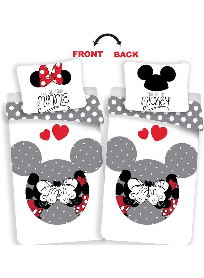 Mickey Dekbedovertrek-Disney Minnie Mouse Your Minnie- Eenpersoons