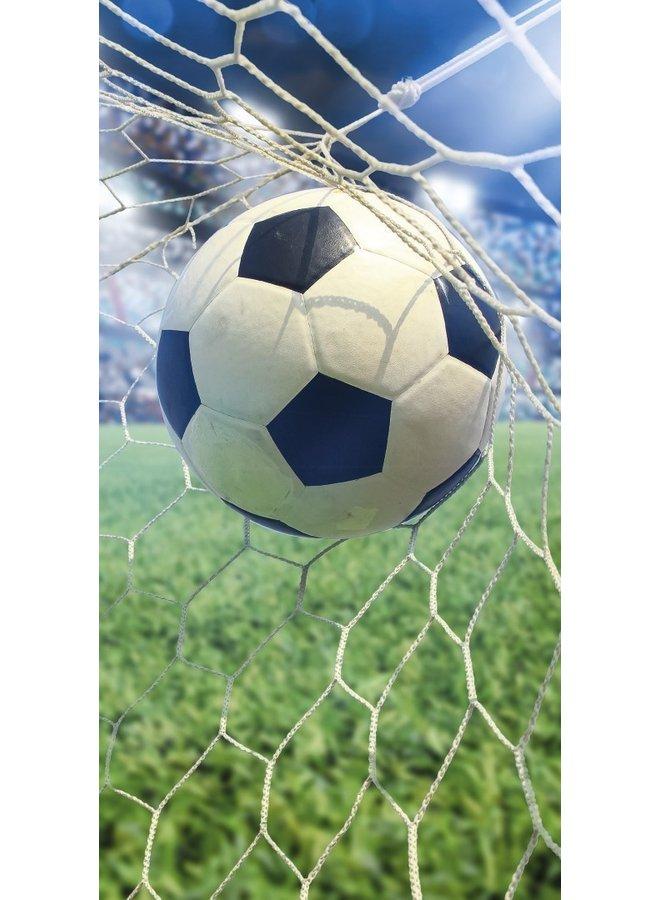 Strandlaken Kids Good Morning Poly Velours no.2040 - Multi - Goal - Voetbal