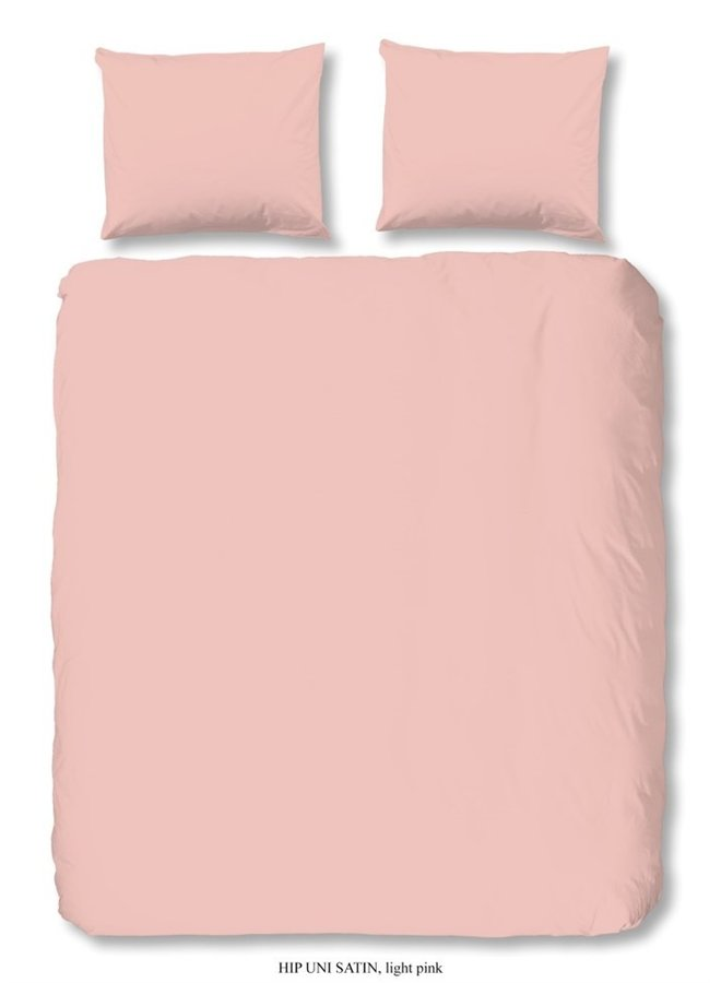 Dekbedovertrek HIP Katoen-satijn  - Light Pink
