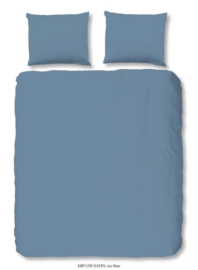 Dekbedovertrek HIP Katoen-satijn  - Ice Blauw
