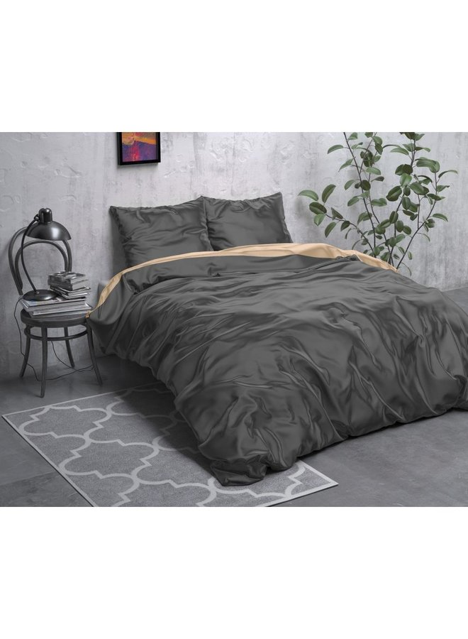 Beauty Double Face Taupe/Anthracite