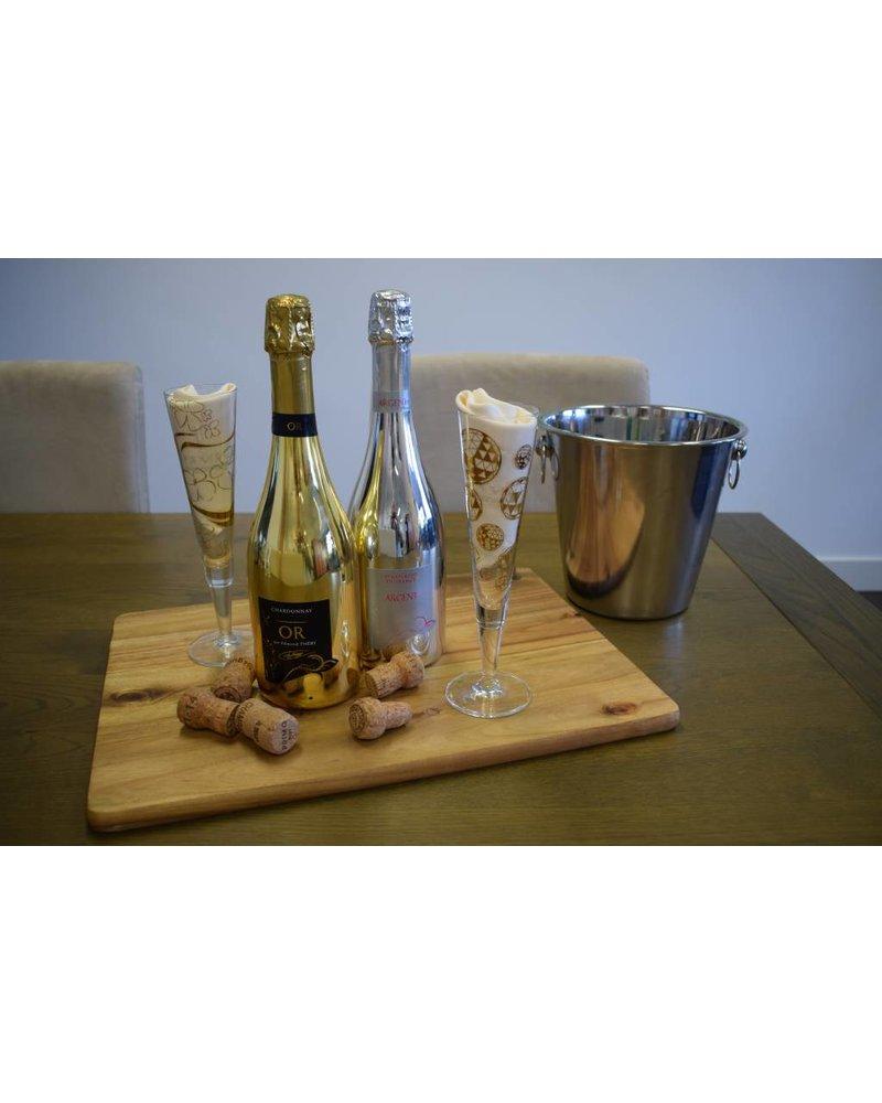 Edmond Théry Chardonnay Bubbel Gold - Mousserende Wijn