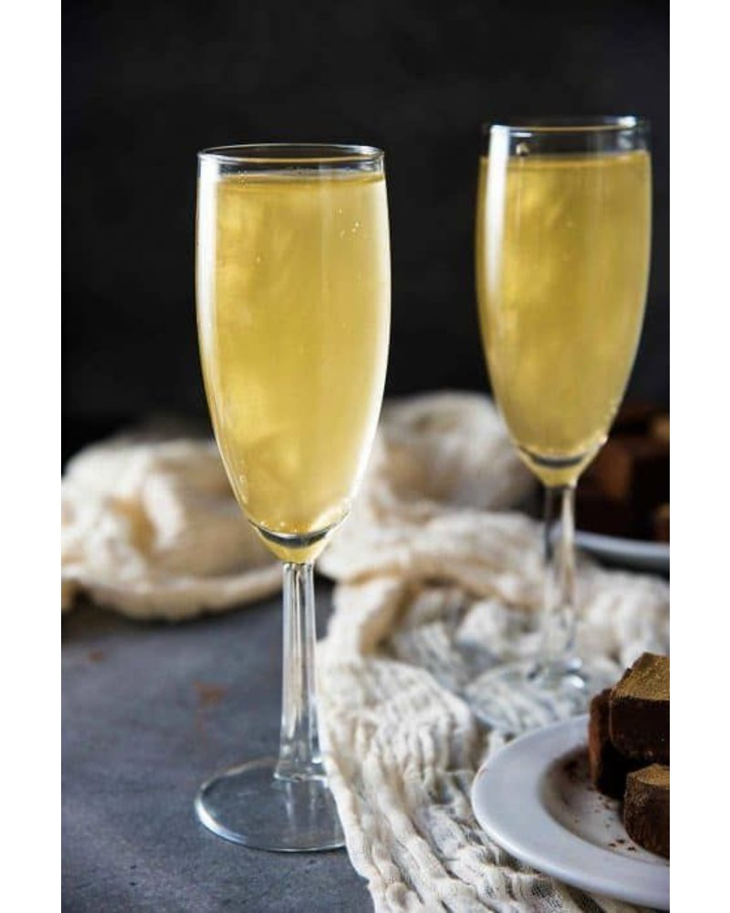 Cloudem Gold Mousserende Alcoholvrije  Glitter Wijn Ananas