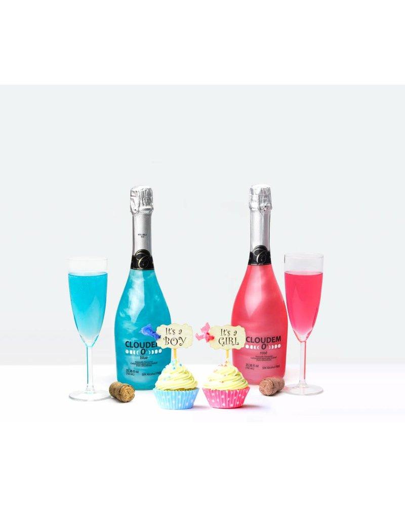 Cloudem Alkoholfreies Gender Reveal Party Paket