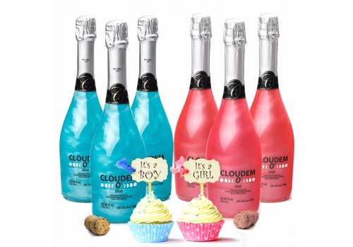 Cloudem Cloudem Alkoholfreies Gender Reveal Party Paket