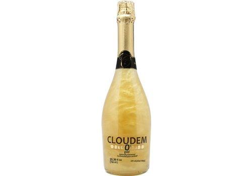 Cloudem Cloudem Gold Mousserende Alcoholvrije  Glitter Wijn Ananas