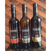 Lussory Premium Red Merlot alkoholfreier wein