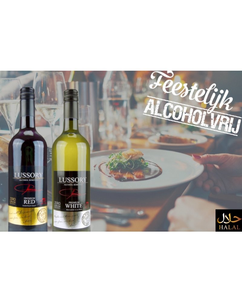 Lussory Premium White Macabeo & Airen alkoholfreier wein