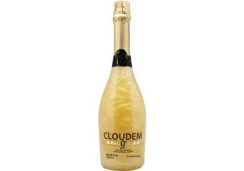 Cloudem 6 Flessen Cloudem Gold Mousserende Alcoholvrije  Glitter Wijn Ananas