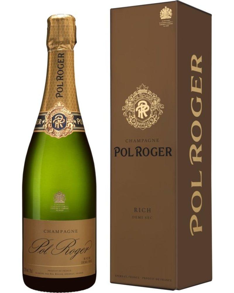 Champagne Pol Roger Rich - Demi Sec + Giftbox