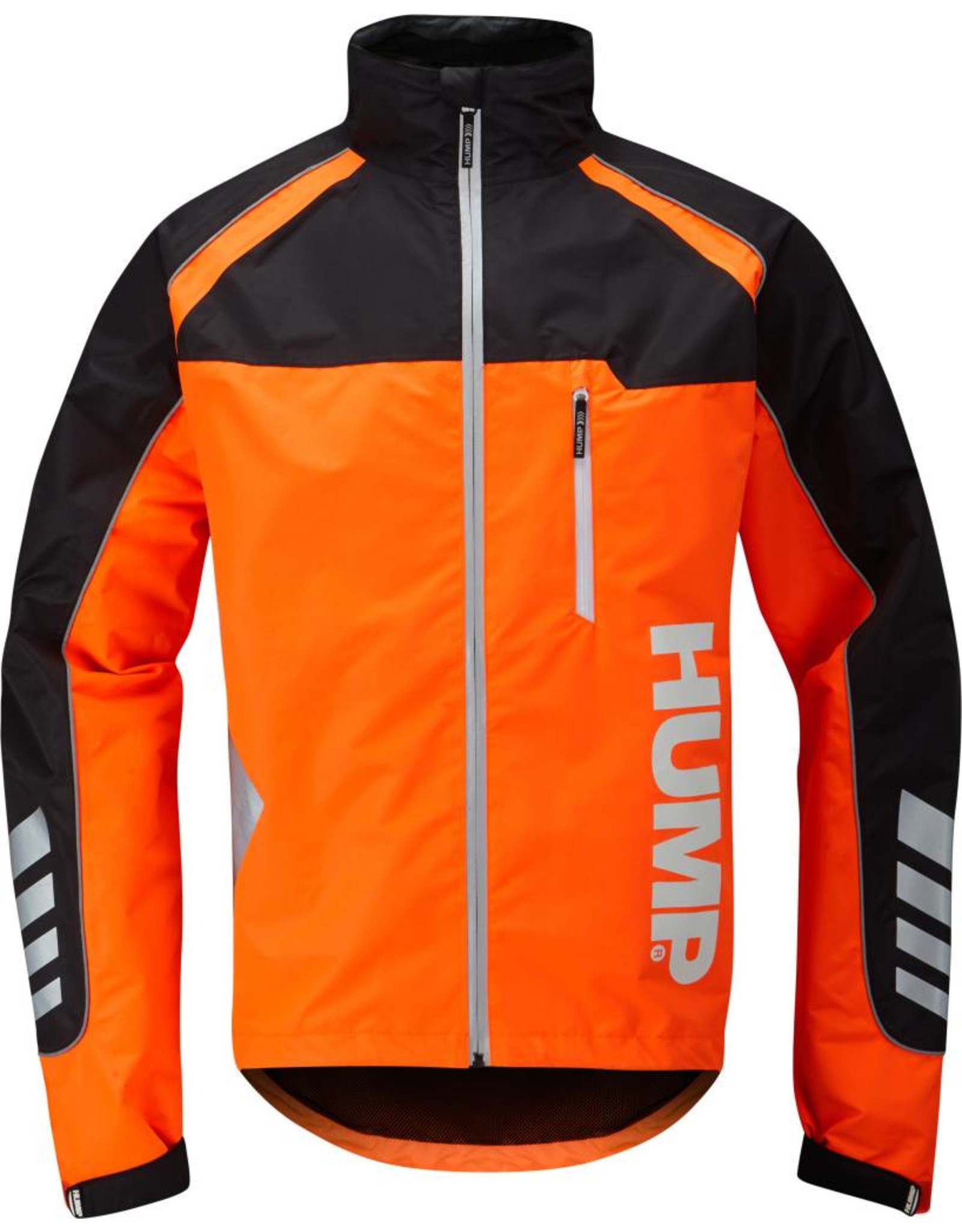 Hump Strobe Men's Waterproof Jacket Orange