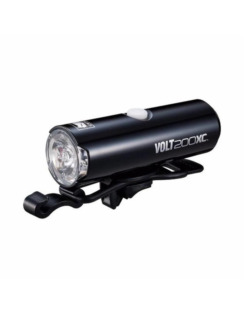 Cateye VOLT 200 XC USB RECHARGEABLE FRONT LIGHT (200 LUMEN):
