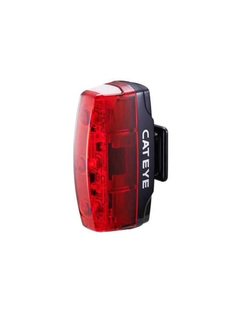 Cateye RAPID MICRO USB RECHARGEABLE REAR LIGHT (15 LUMEN):